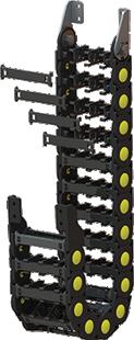 Plastic Medium Serie Cable Drag Chain